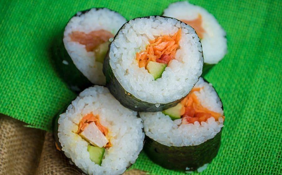 vegitarian catering portion
