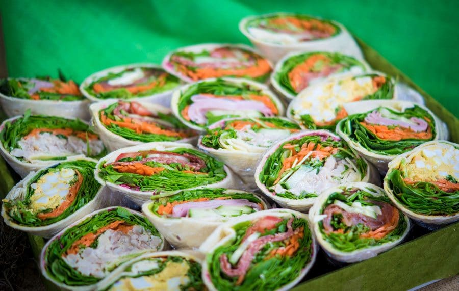 Wrap Box Catering